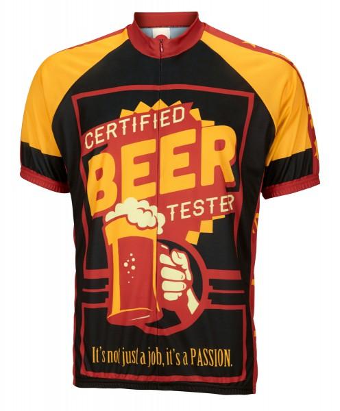 Radtrikot Certified Beer Tester
