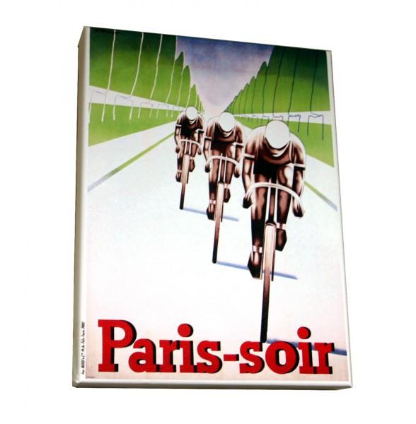 Paris Soir Leinwanddruck 40x30