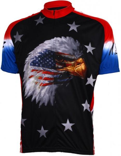 Fahrradtrikot USA American Eagle