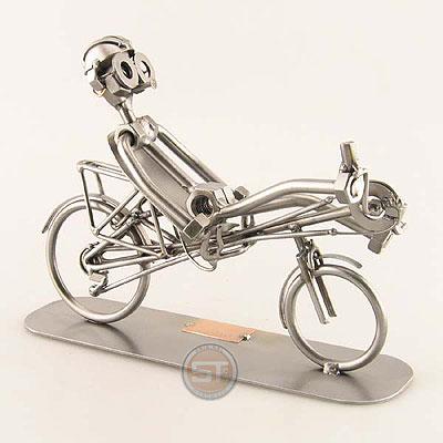 miniatur liegerad modell schraubenm nnchen fahrrad. Black Bedroom Furniture Sets. Home Design Ideas