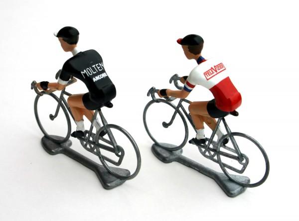 Flandriens Rennradfahrer Miniaturen Molteni Black Televizier