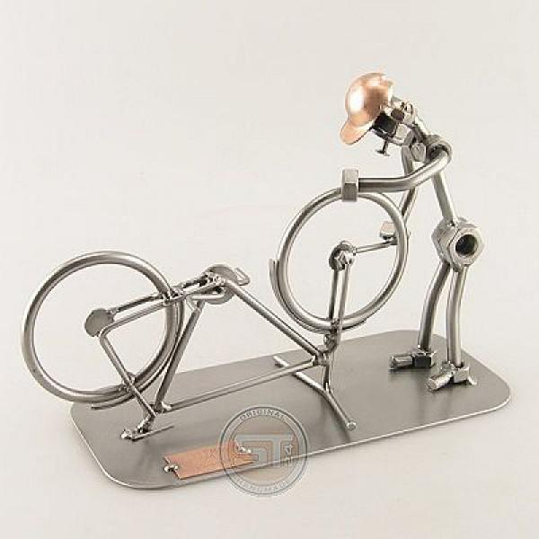 Miniatur Fahrradmechaniker - Modell Schraubenmännchen