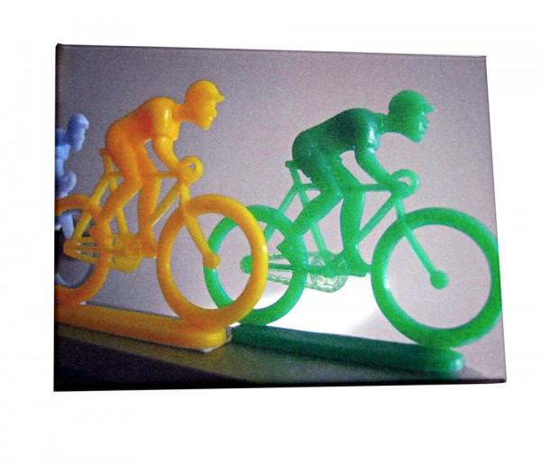 Biker Leinwanddruck 40x30