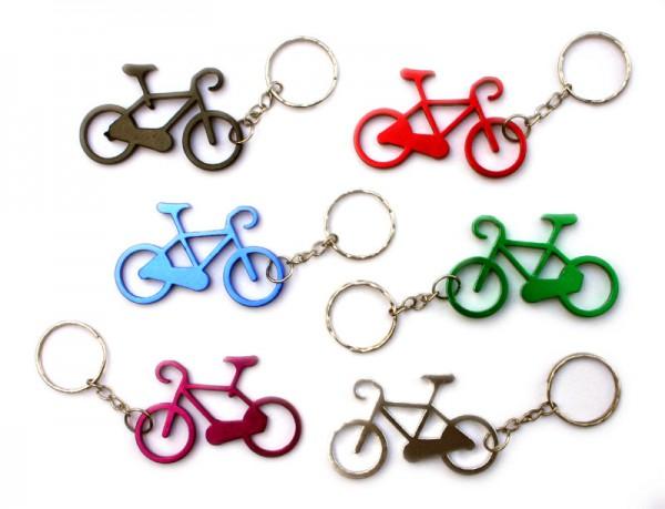 Schlüsselanhänger Fahrrad Alu