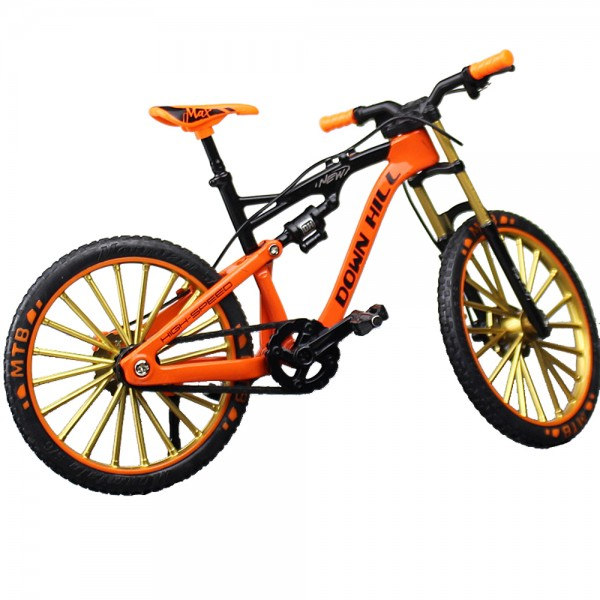 Miniatur Mountain Bike Downhill Orange