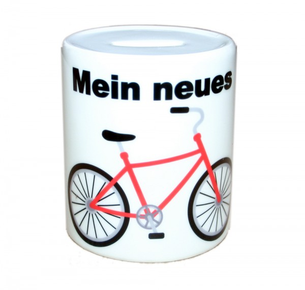 Spardose Sparbüchse Fahrrad Bike