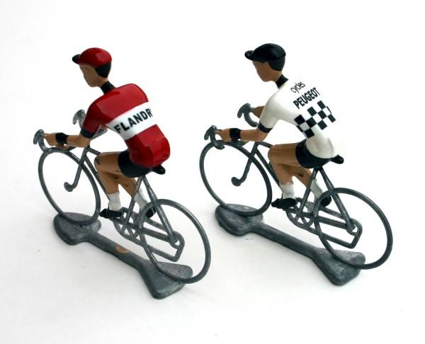 Flandriens Rennradfahrer Miniaturen Peugeot Flandria