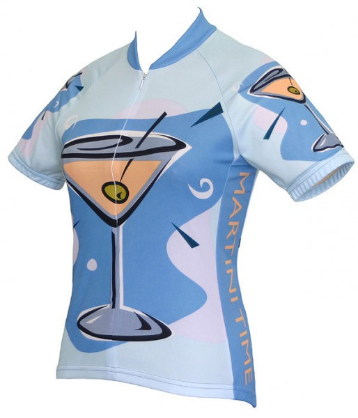 Damen Radtrikot Martini Time