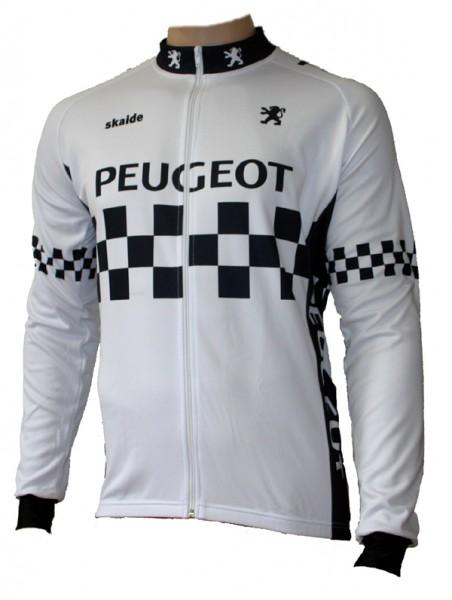 Radtrikot Peugeot Retro Classic Langarm