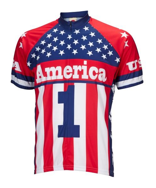 Radtrikot USA America 1