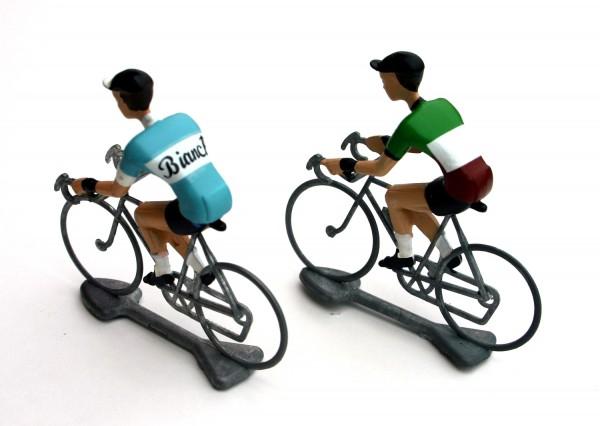 Flandriens Rennradfahrer Miniaturen Bianchi / Italy