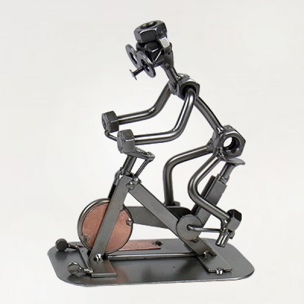 Miniatur Spinning - Modell Schraubenmännchen