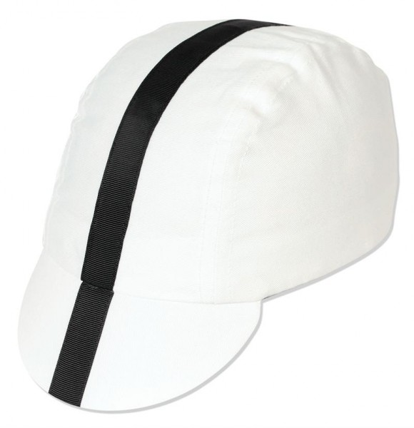 Radmütze Cap White/Black