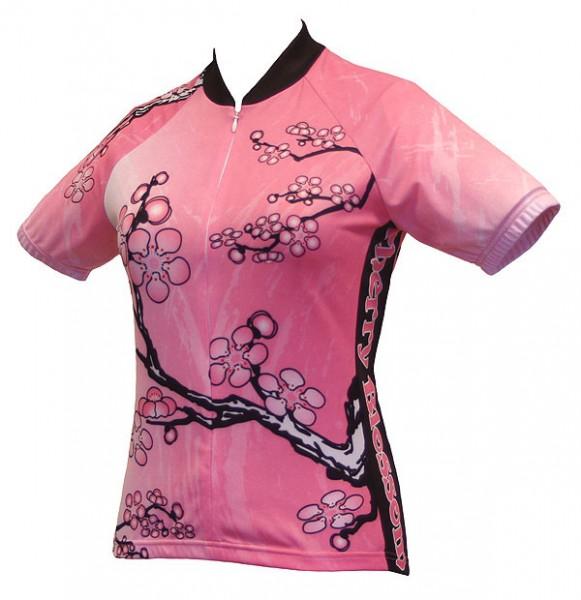 Damen Radtrikot Cherry Blossom