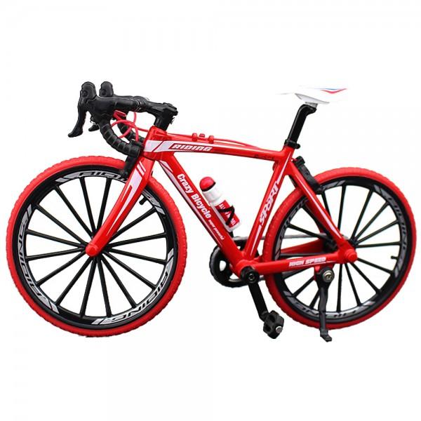 Fahrrad Modell 1:10 Rennrad Rot