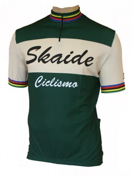 Radtrikot Skaide Ciclismo grün creme