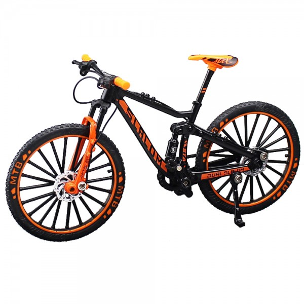 Miniatur Mountain Bike Slalom orange