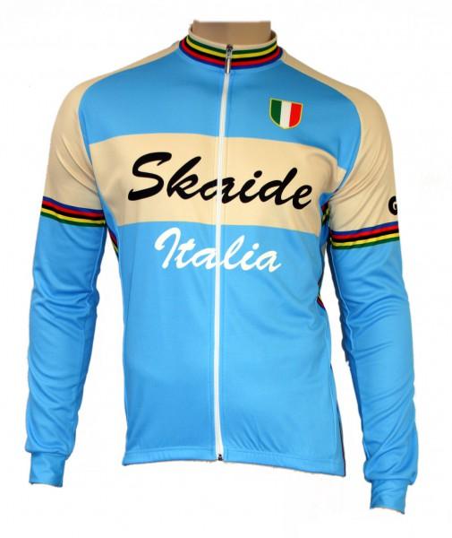 Radtrikot Italien Italia Italy Langarm Retro