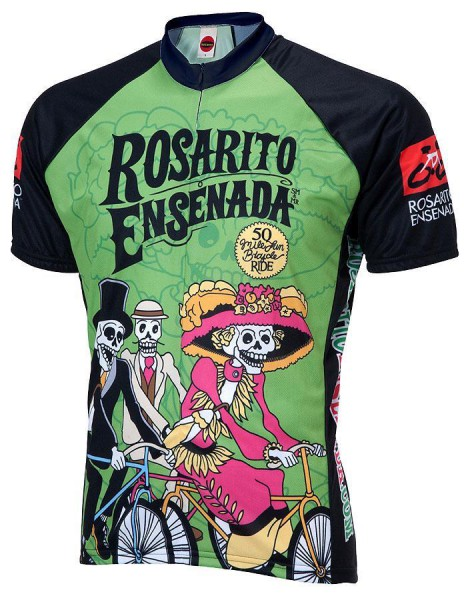 Radtrikot Rosarito Ensenada Day oft the dead