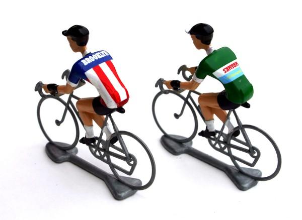 Flandriens Rennradfahrer Miniaturen Brooklyn Sansons