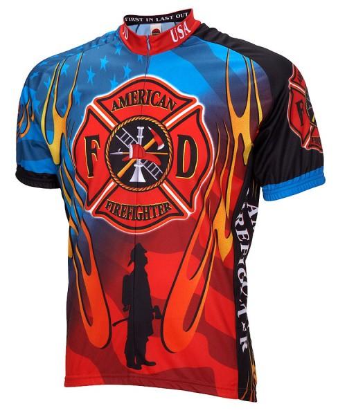 Radtrikot Feuerwehr Firefighter USA