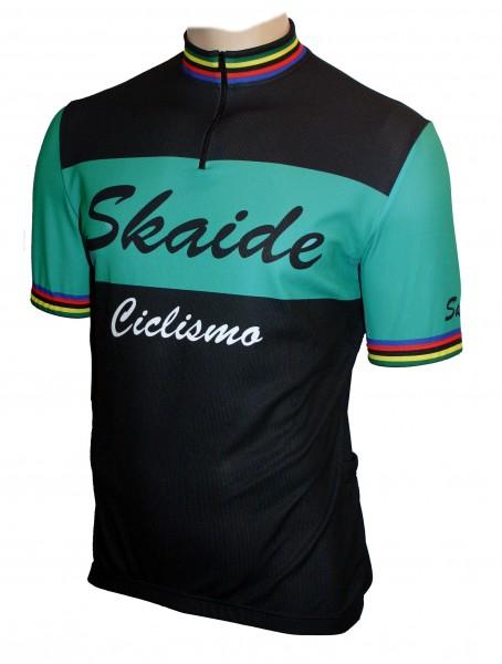 Radtrikot Skaide Ciclismo Celeste