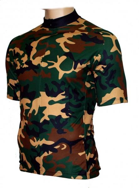 Radtrikot Camouflage