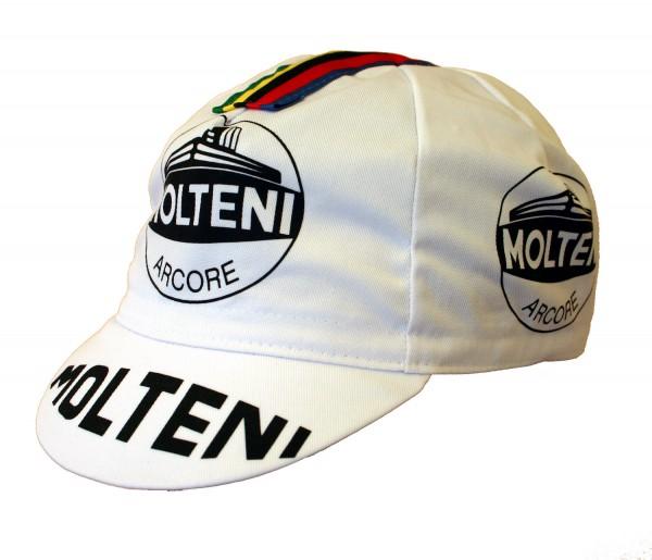 Radlercap Fahrradmütze Molteni Retro Kappe