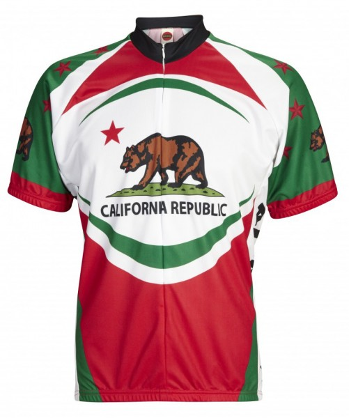 Radtrikot California Bear USA
